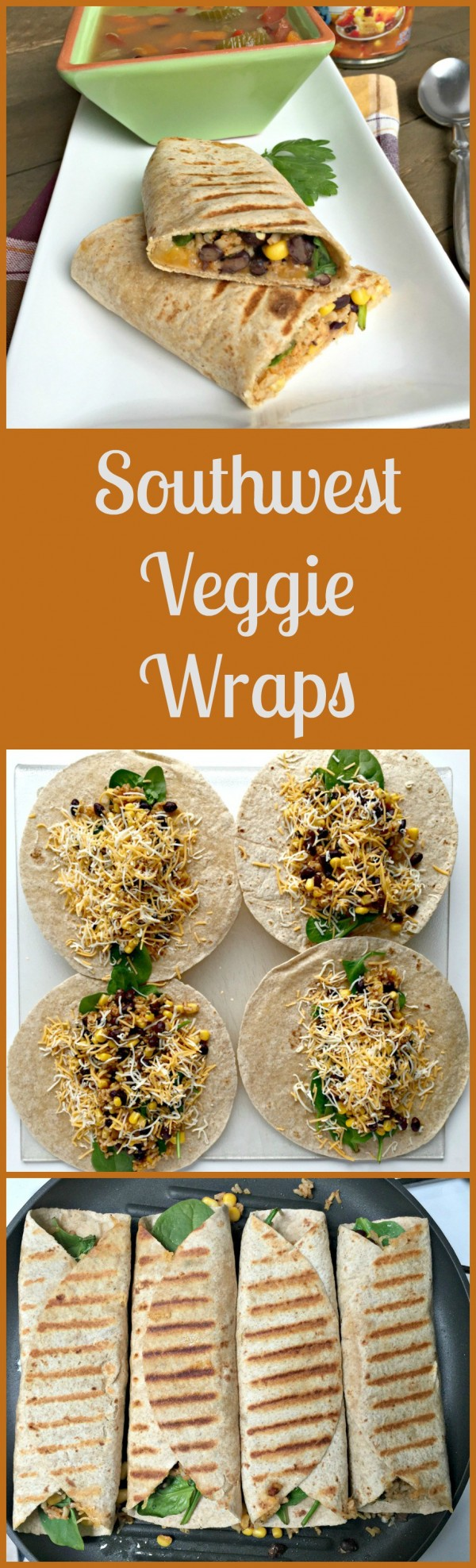 Get the recipe Southwest Veggie Wraps @recipes_to_go