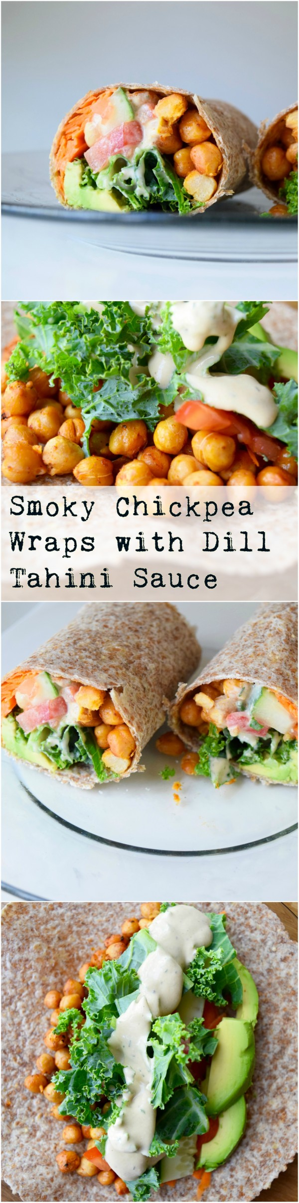Get the recipe Smoky Chickpea Wraps with Dill Tahini Sauce @recipes_to_go