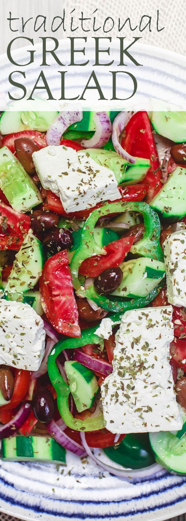 Get the recipe Traditional Greek Salad @recipes_to_go