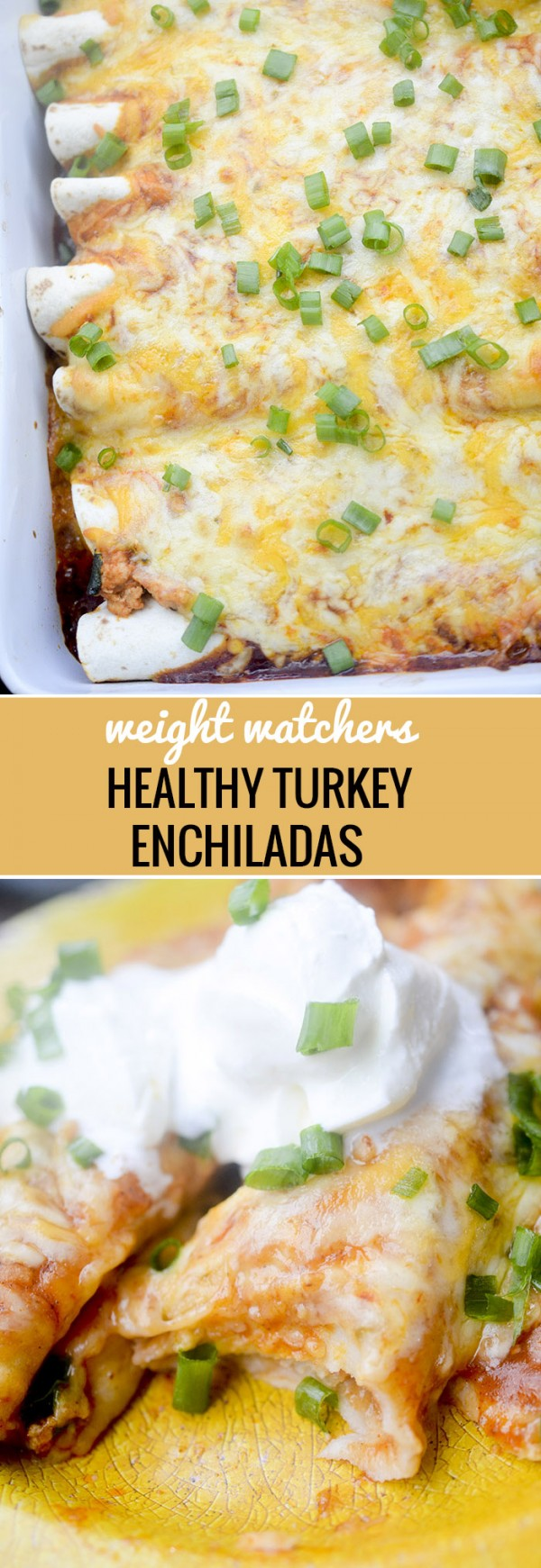 Get the recipe Healthy Turkey Enchiladas @recipes_to_go