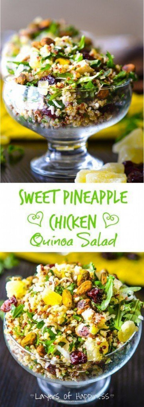 Get the recipe Pineapple Chicken Quinoa Salad @recipes_to_go