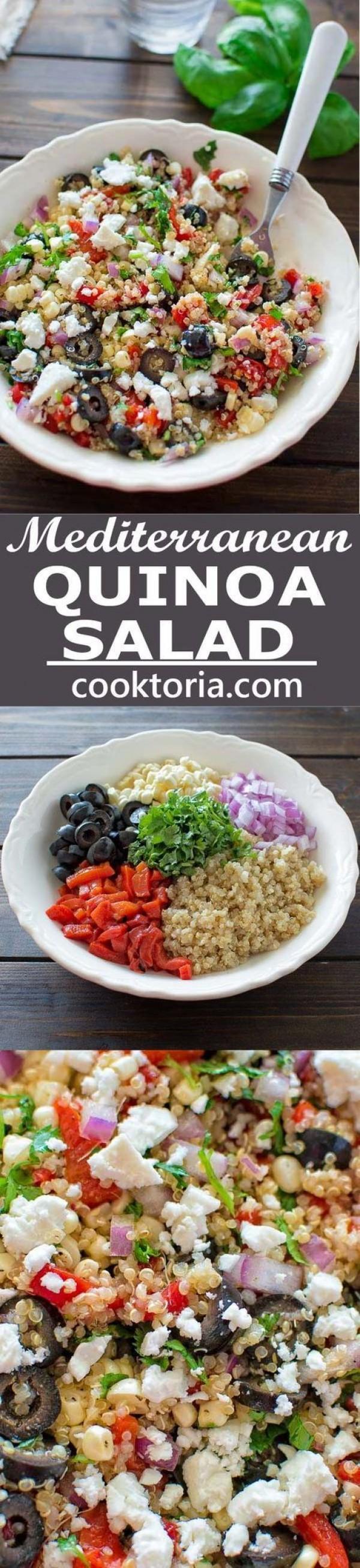 Get the recipe Mediterranean Quinoa Salad @recipes_to_go
