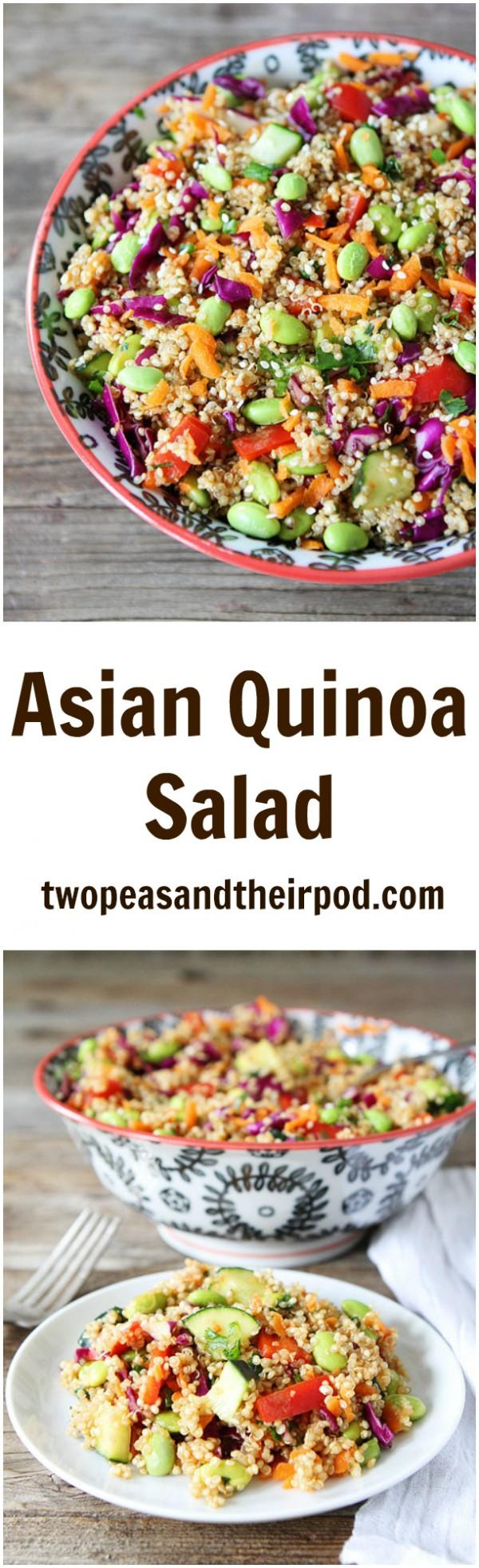 Get the recipe Asian Quinoa Salad @recipes_to_go