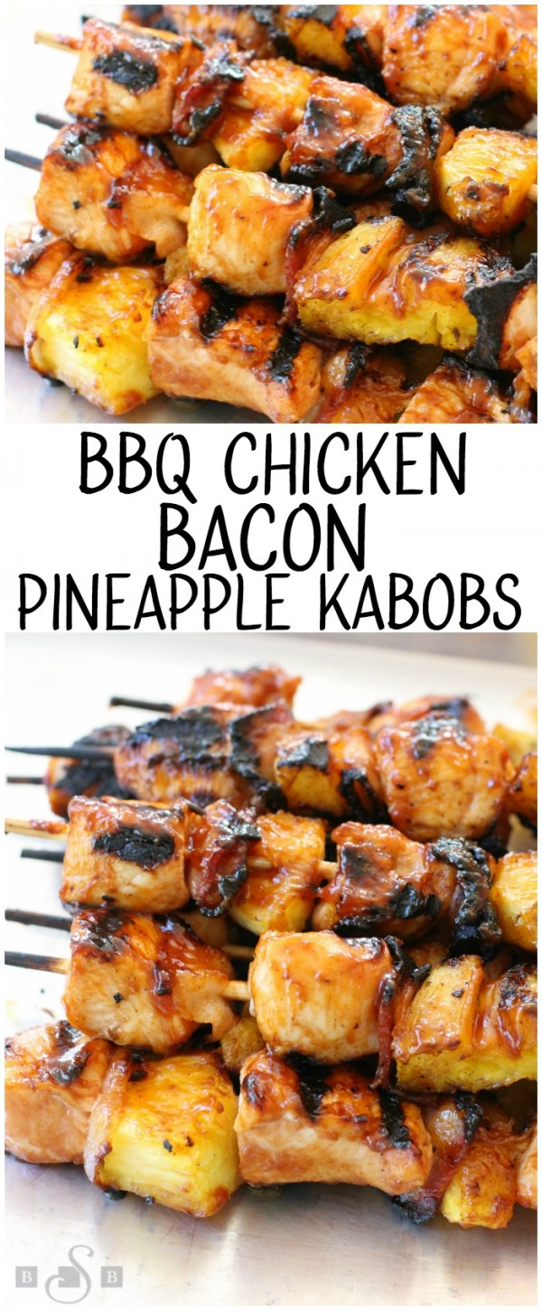 Get the recipe BBQ Chicken Bacon Pineapple Kabobs @recipes_to_go
