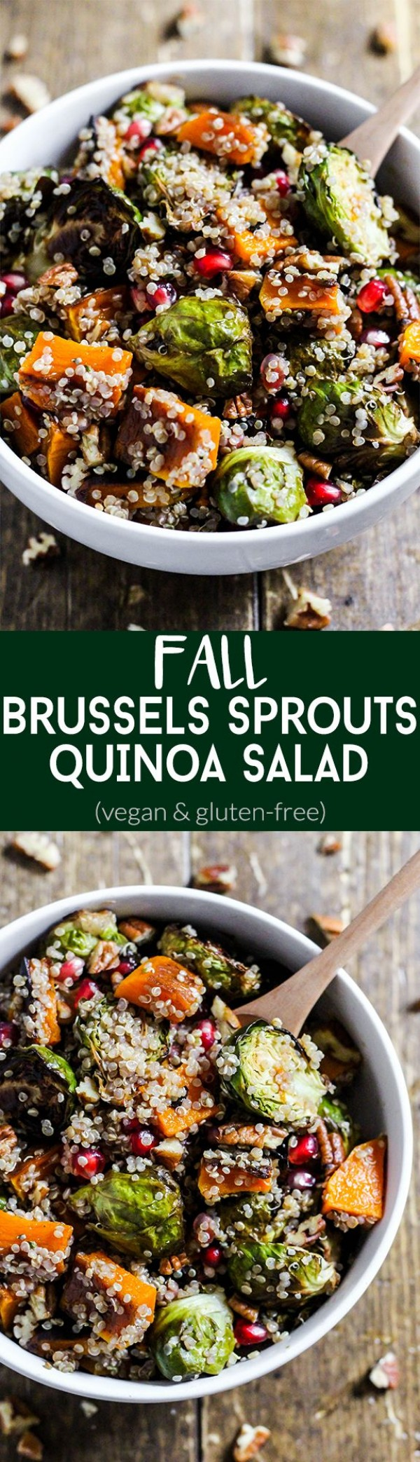 Get the recipe Brussels Sprouts Quinoa Salad @recipes_to_go