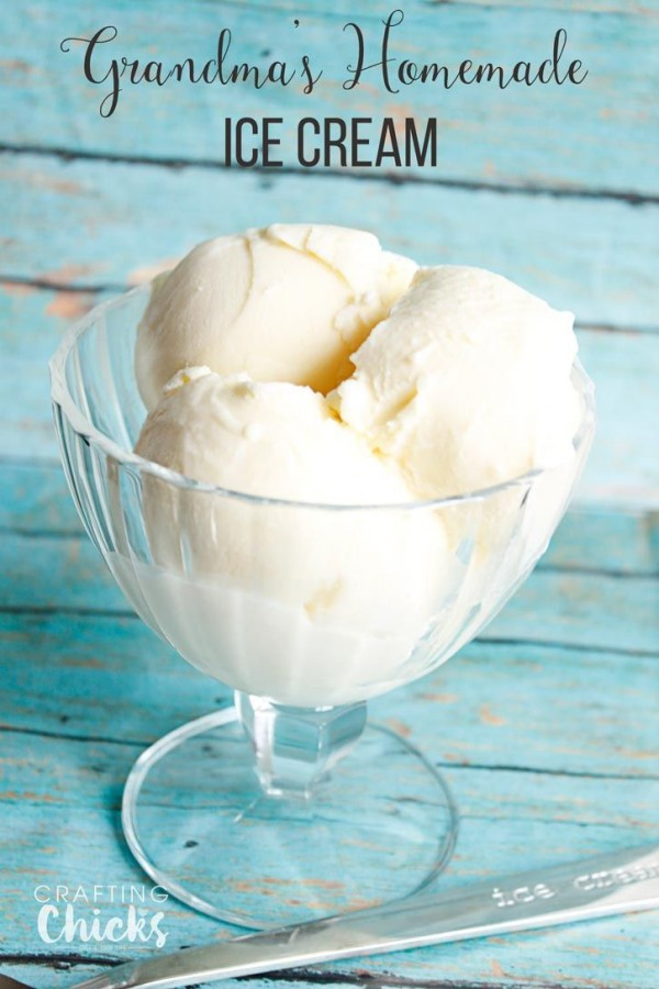 Get the recipe Grandma's Homemade Ice Cream @recipes_to_go