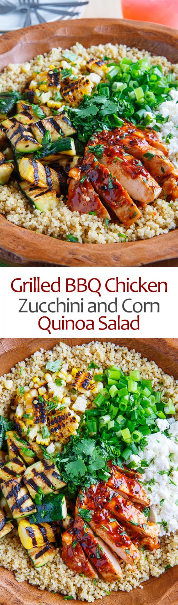 Get the recipe Grilled BBQ Chicken Quinoa Salad @recipes_to_go