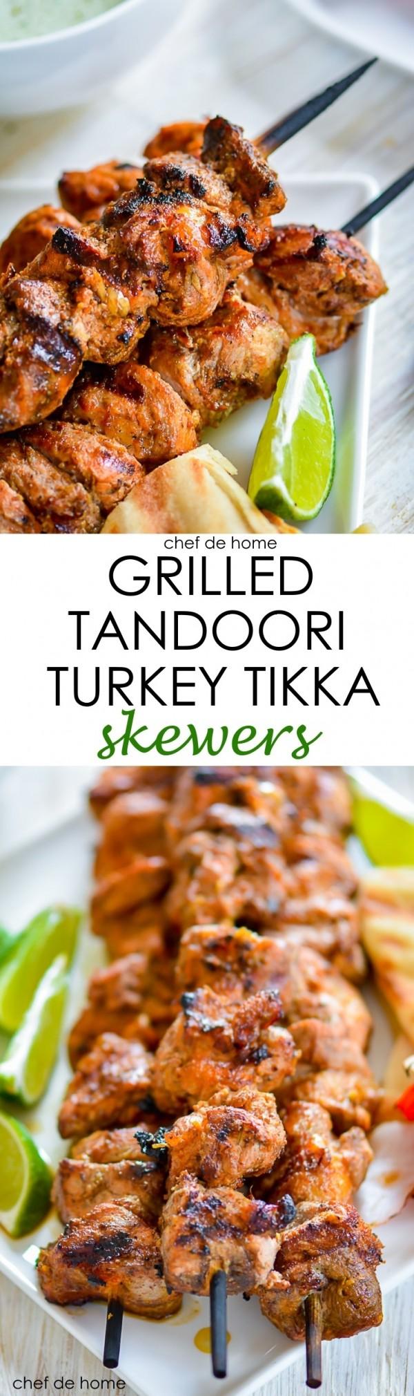 Get the recipe Grilled Tandoori Turkey Tikka @recipes_to_go