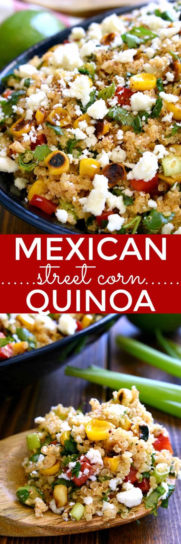 Get the recipe Mexican Street Corn Quinoa Salad @recipes_to_go