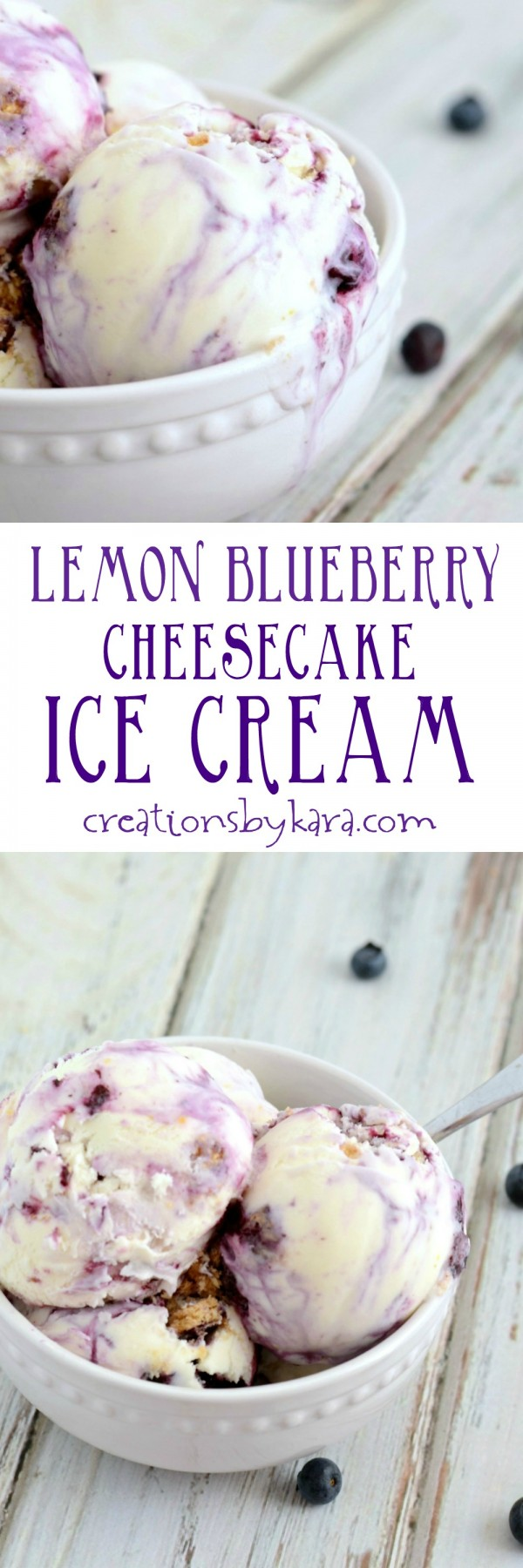 Get the recipe Lemon Blueberry Cheesecake Ice Cream @recipes_to_go