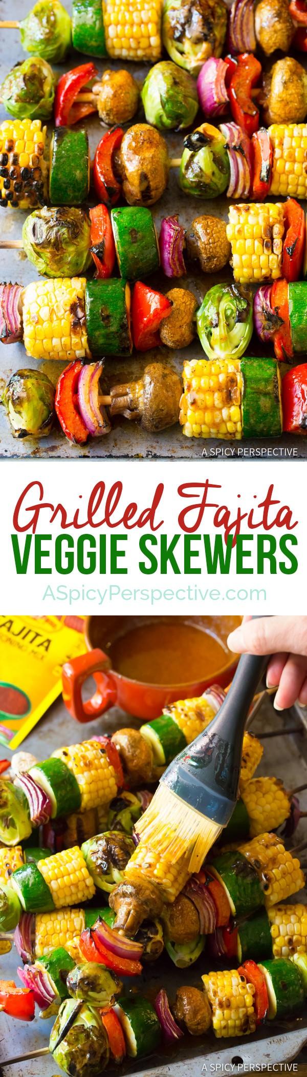 Get the recipe Grilled Fajita Veggie Skewers @recipes_to_go