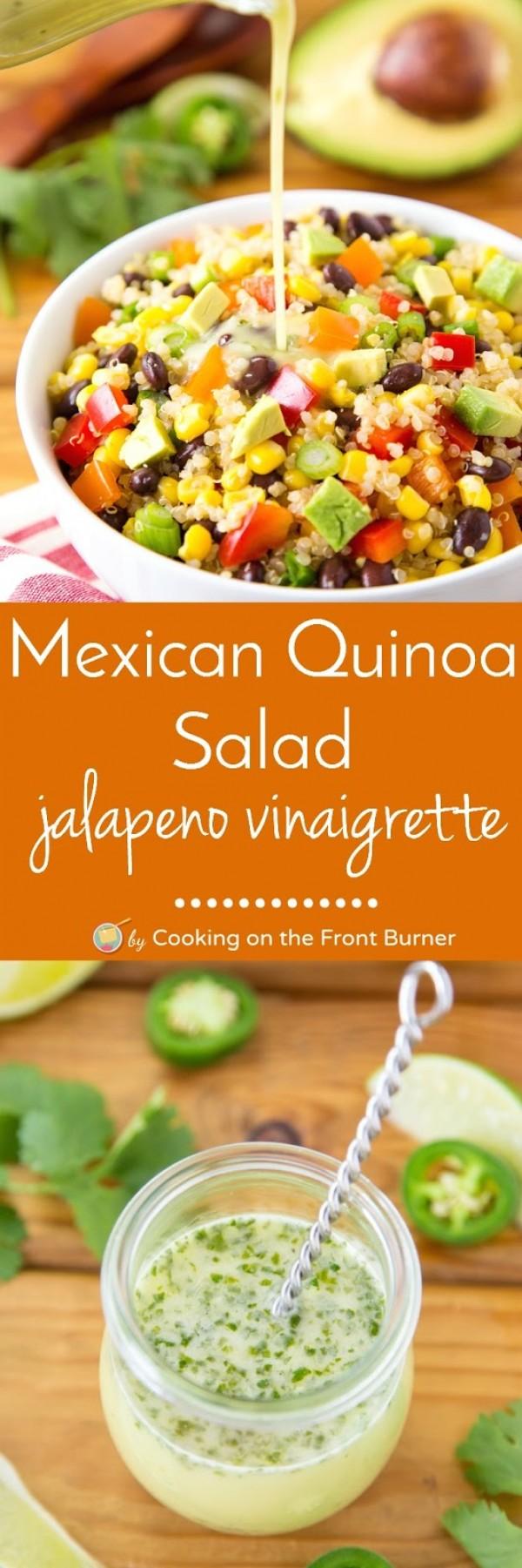 Get the recipe Mexican Quinoa Salad @recipe_to_go