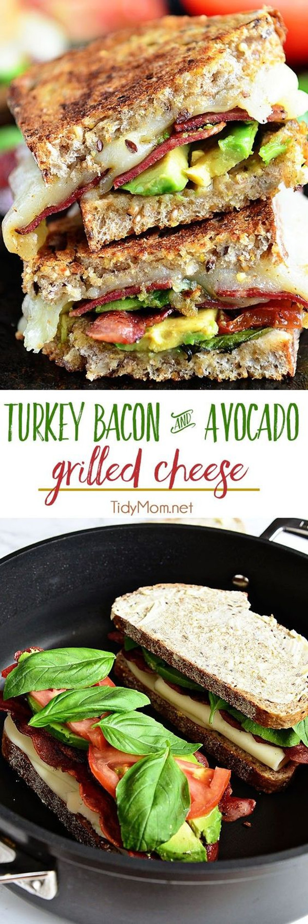 Get the recipe Turkey Bacon & Avocado Grilled Cheese @recipes_to_go