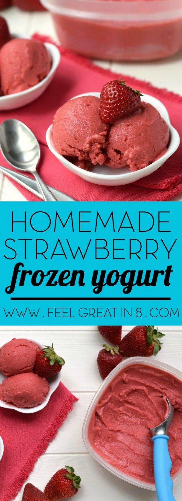 Get the recipe Strawberry Frozen Yogurt @recipes_to_go