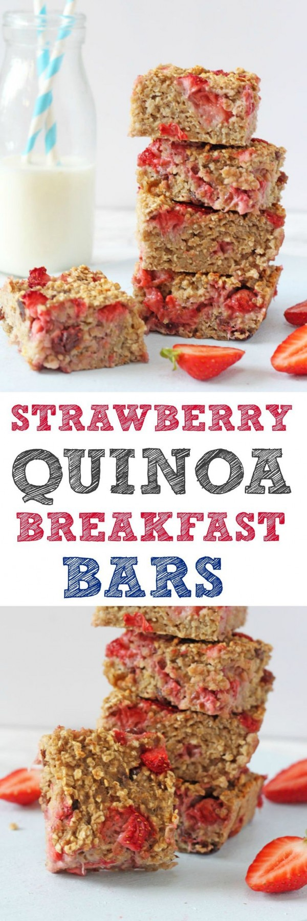 Get the recipe Strawberry Quinoa Breakfast Bars @recipes_to_go