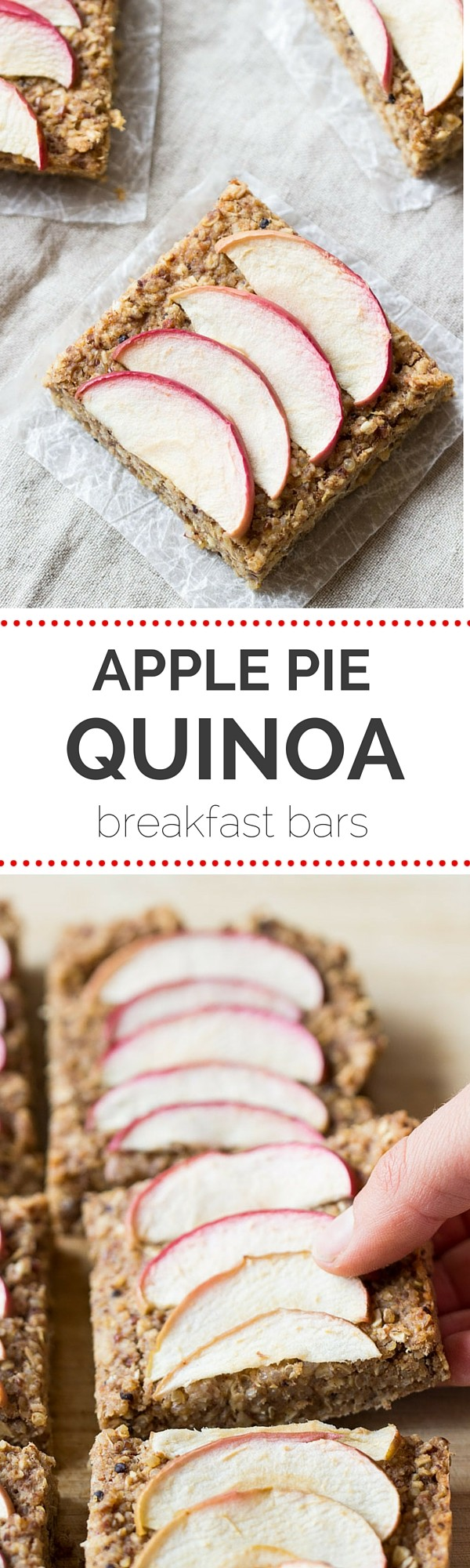 Get the recipe Apple Pie Quinoa Breakfast Bars @recipes_to_go