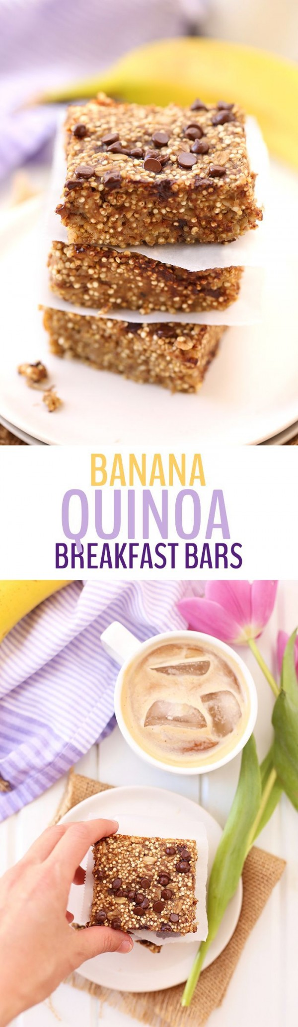 Get the recipe Banana Quinoa Breakfast Bars @recipes_to_go