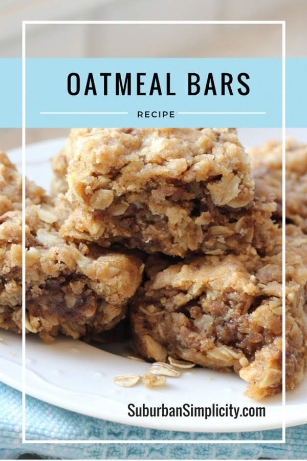 Get the recipe Oatmeal Bars @recipes_to_go