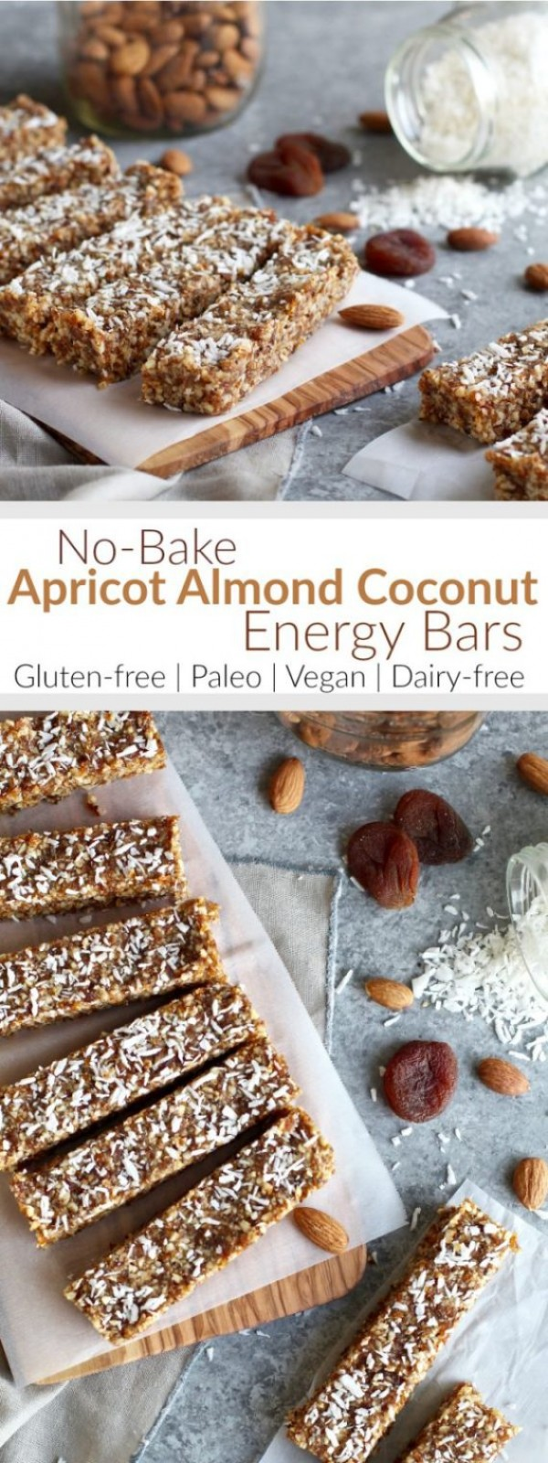 Get the recipe Apricot Almond Coconut Energy Bars @recipes_to_go