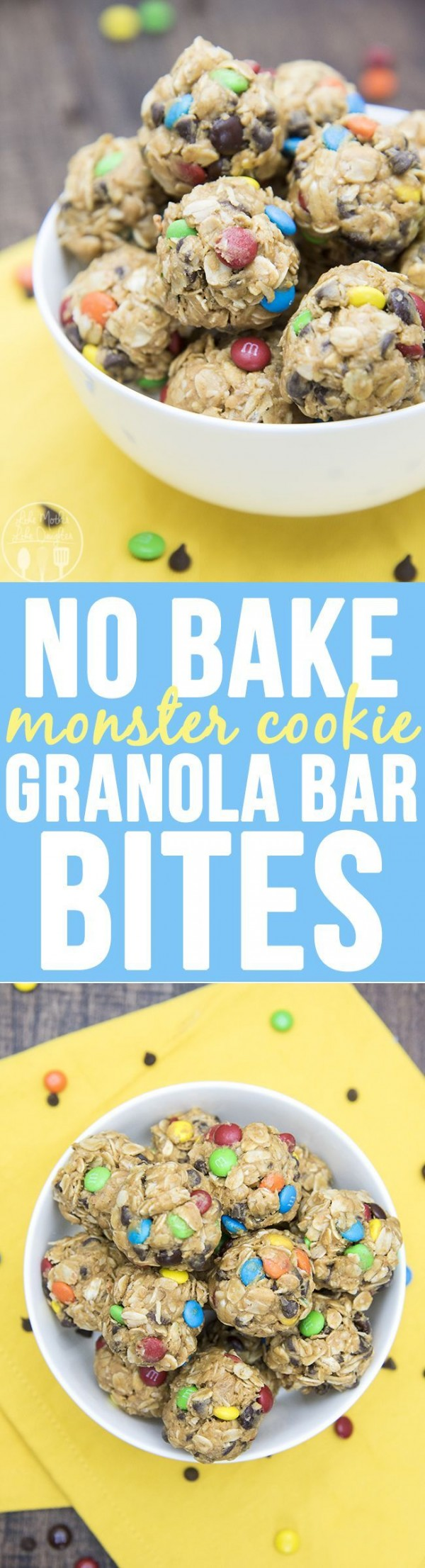 Get the recipe Monster Cookie Granola Bar Bites @recipes_to_go