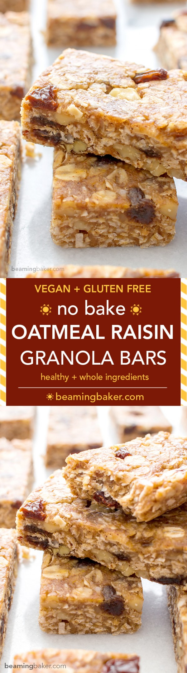 Get the recipe Oatmeal Raisin Granola Bars @recipes_to_go