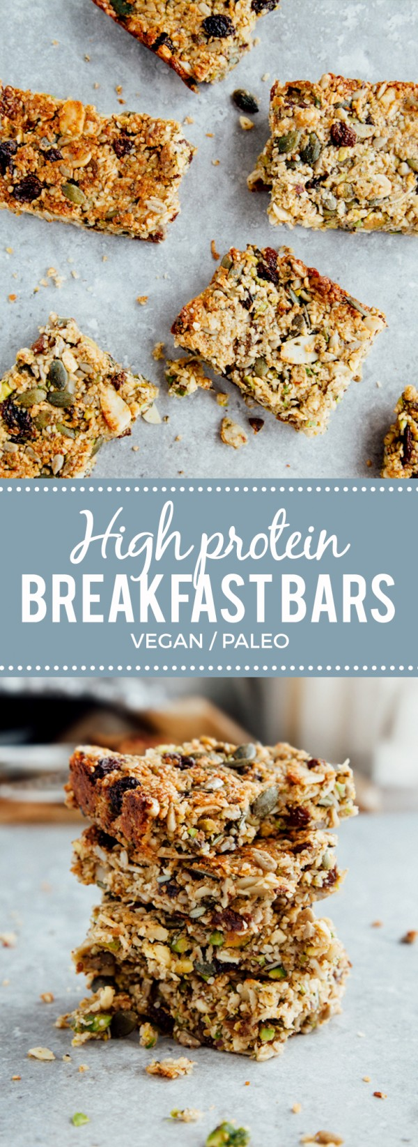 Get the recipe High Protein Breakfast Bars @recipes_to_go