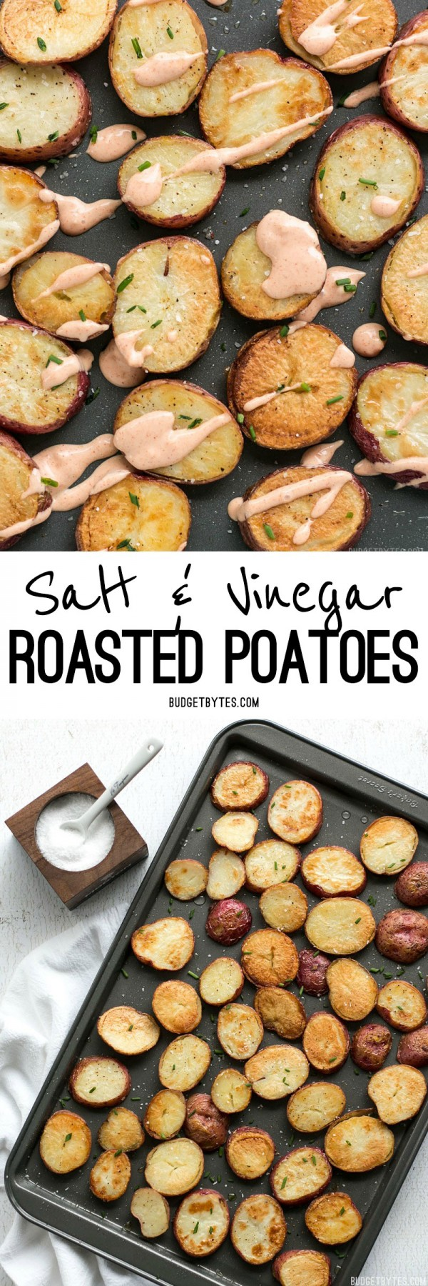 Get the recipe Salt and Vinegar Roasted Potatoes @recipes_to_go