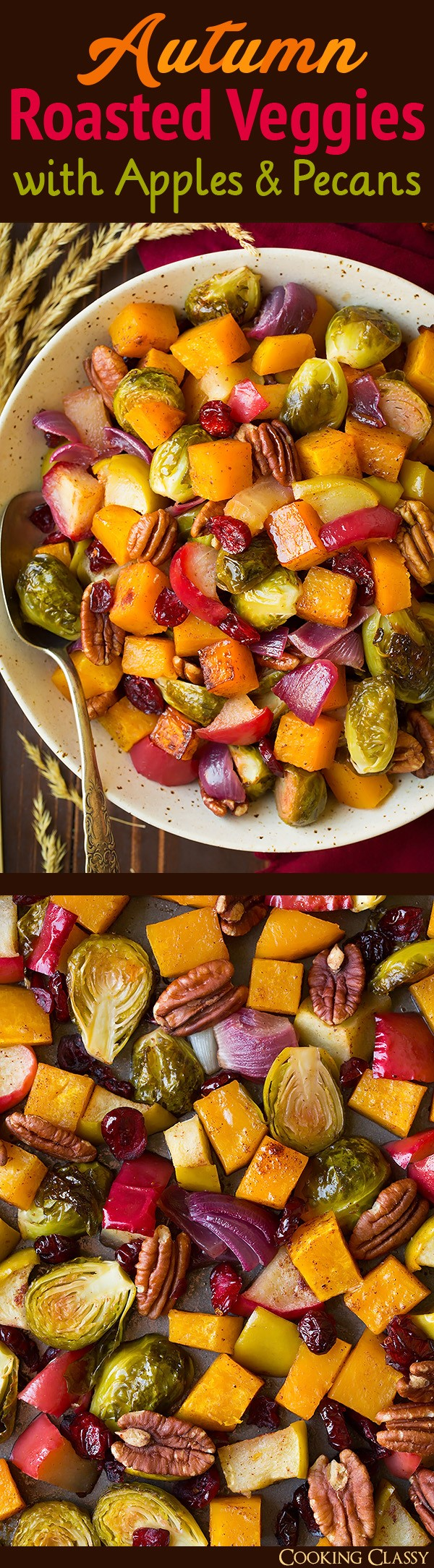 Get the recipe Roasted Veggies with Apples and Pecans @recipes_to_go