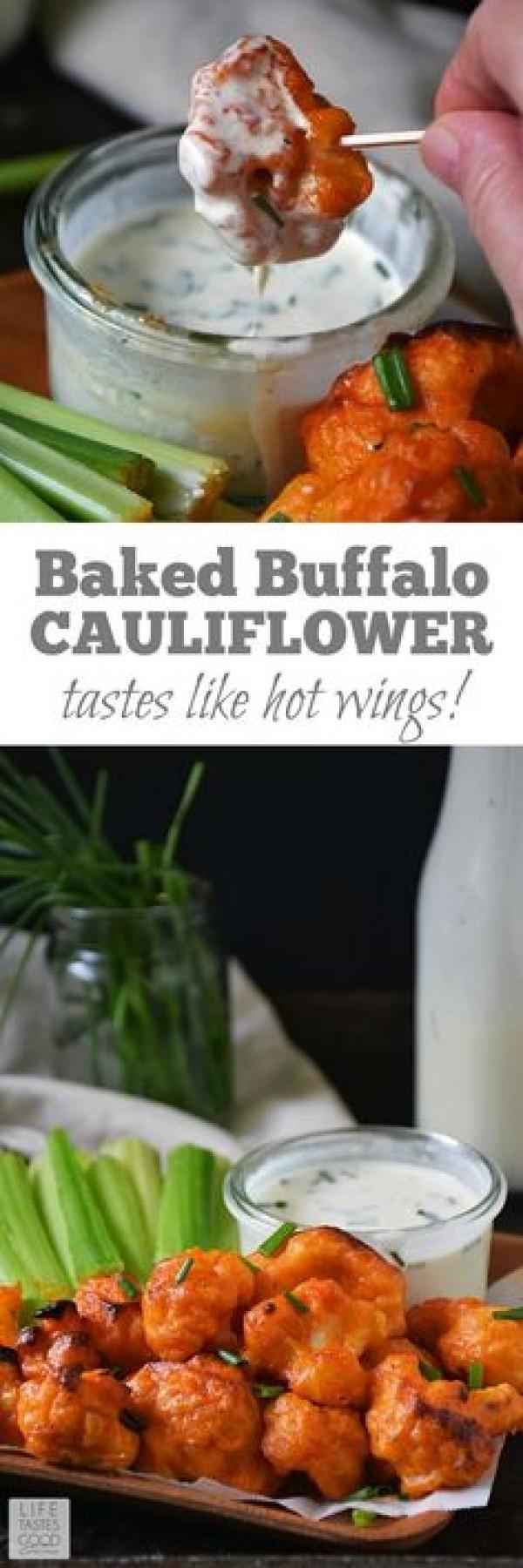 Get the recipe Baked Buffalo Cauliflower @recipes_to_go