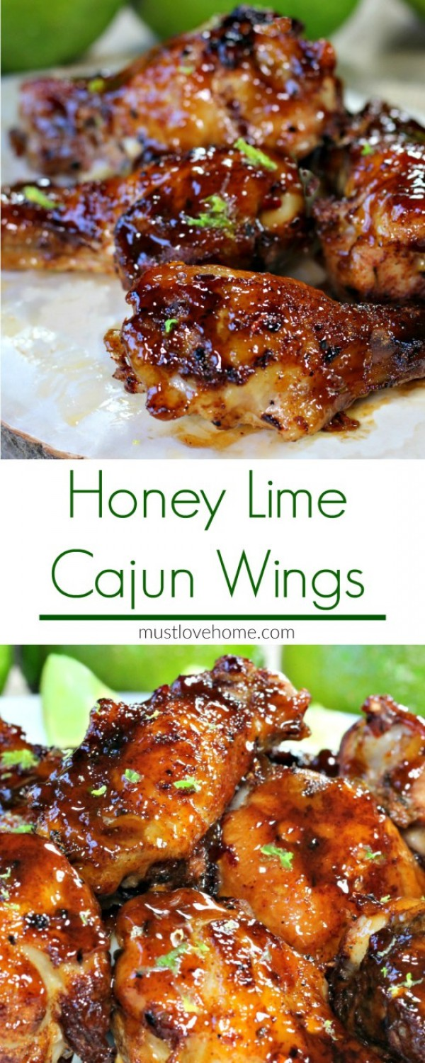 Get the recipe Honey Lime Cajun Wings @recpes_to_go