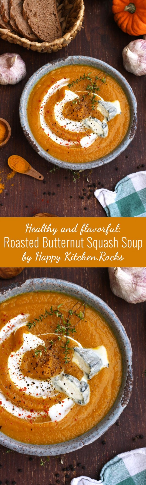 Get the recipe Roasted Butternut Squash Soup @recipes_to_go