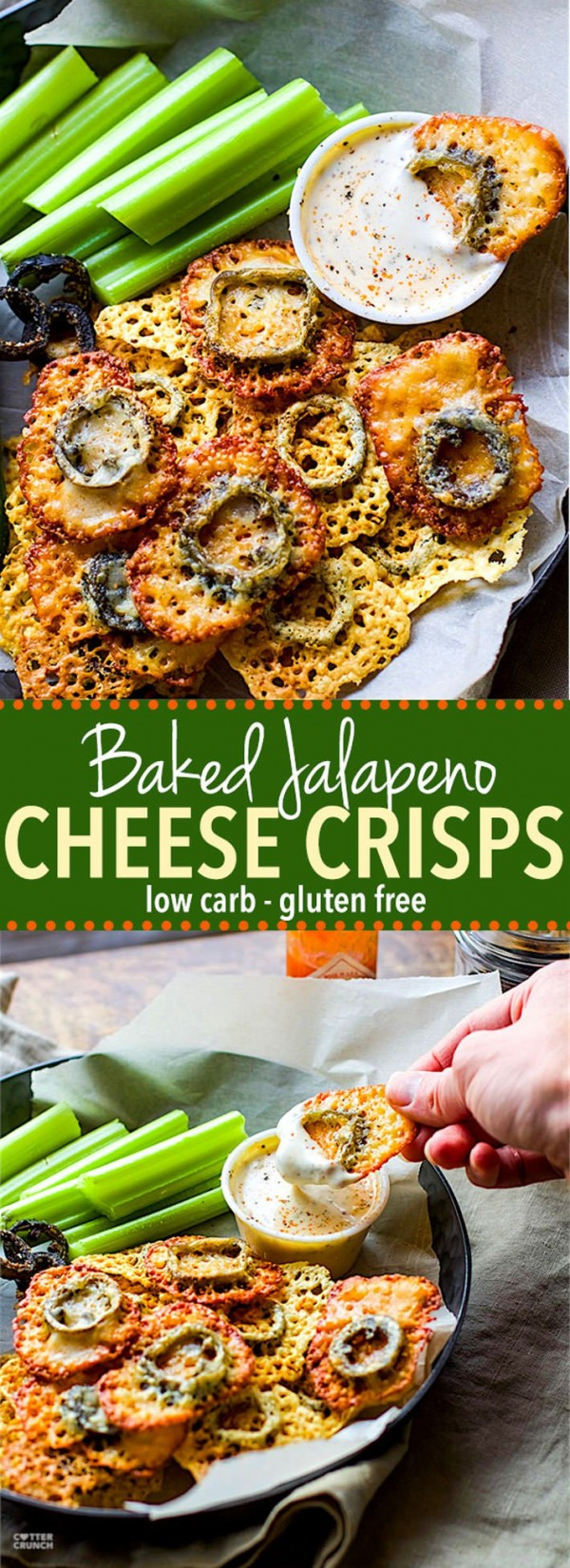 Get the recipe Baked Jalapeno Cheese Crisps @recipes_to_go