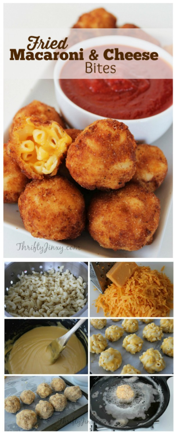 Get the recipe Fried Macaroni and Cheese Bites @recipes_to_go