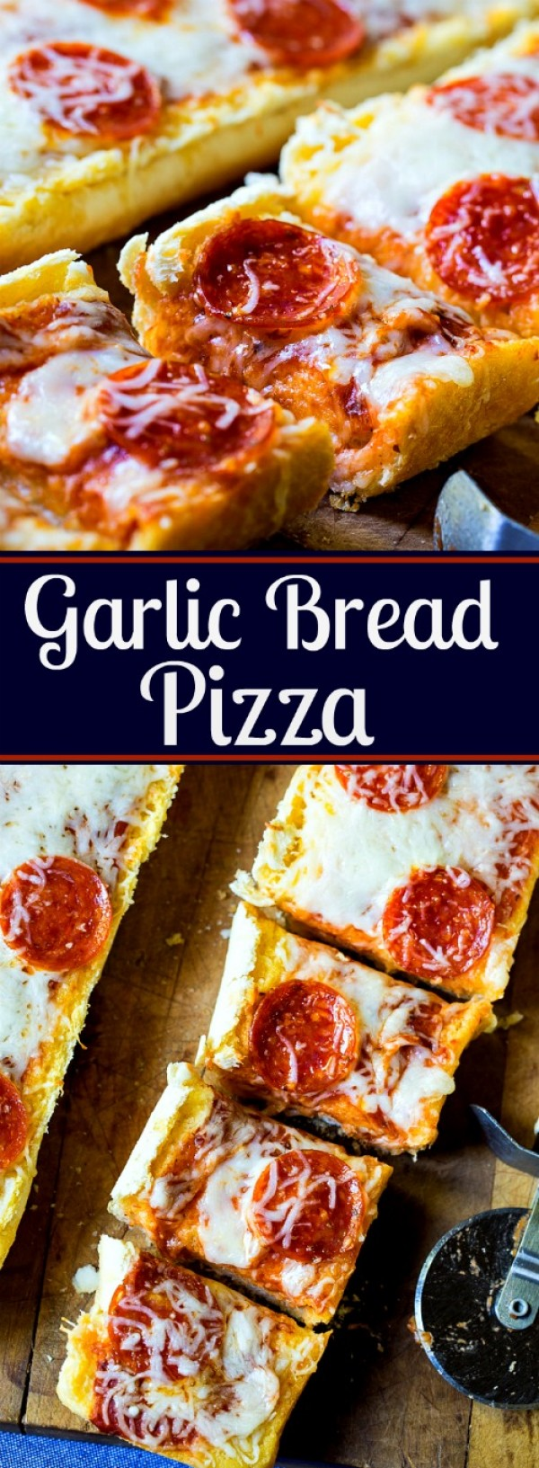 Get the recipe Garlic Bread Pizza @recipes_to_go