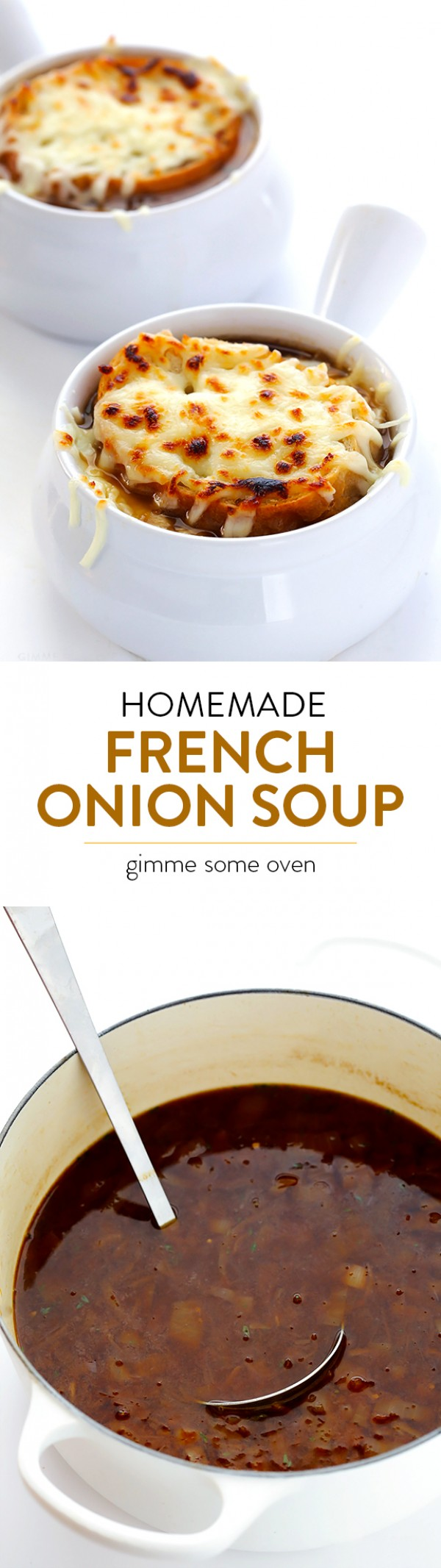 Get the recipe Homemade French Onion Soup @recipes_to_go