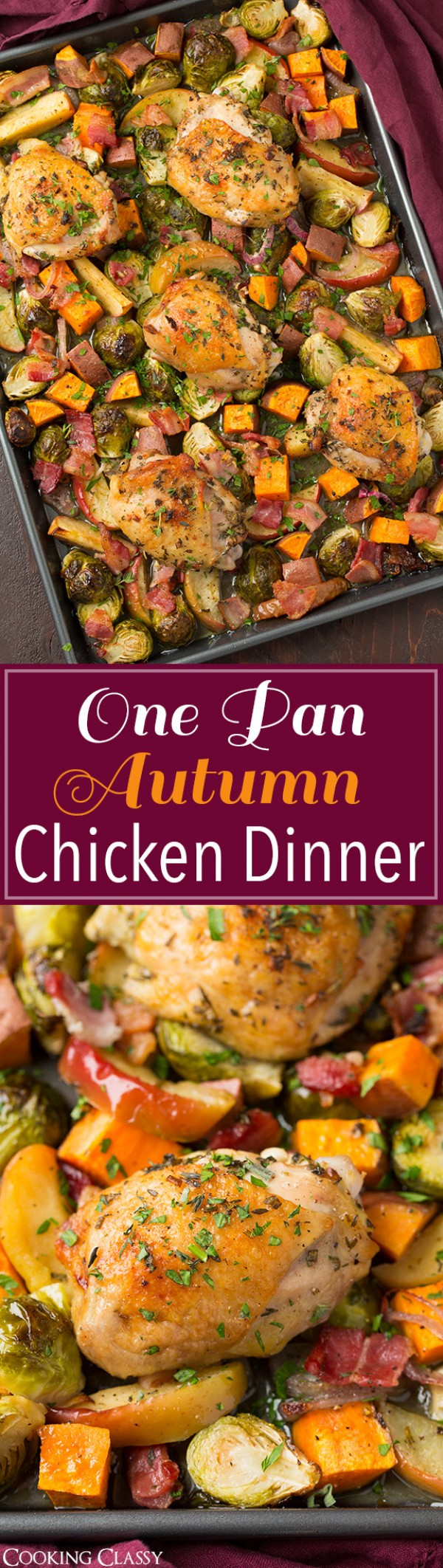 Get the recipe One-pan Autumn Chicken Dinner @recipes_to_go