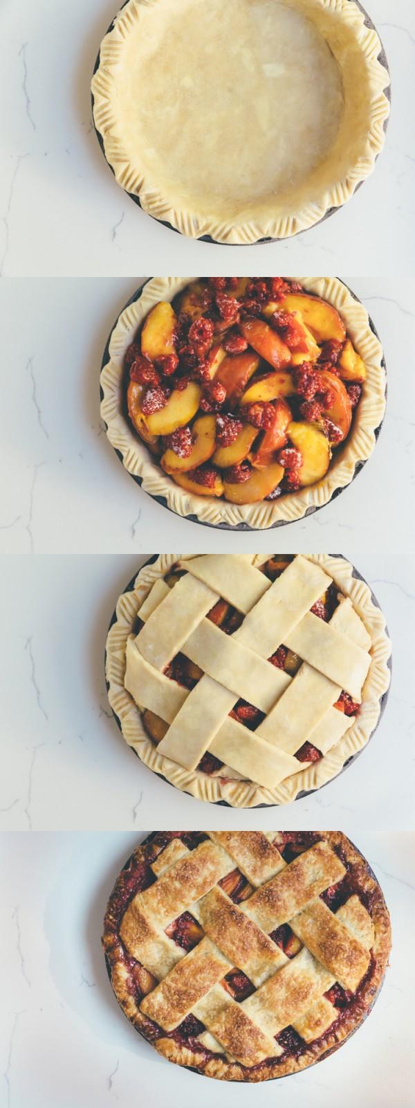 Get the recipe Peach Raspberry Pie @recipes_to_go