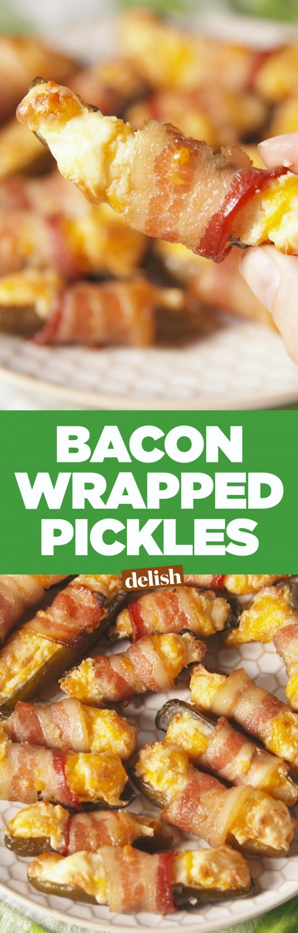 Get the recipe Bacon Wrapped Pickles @recipes_to_go