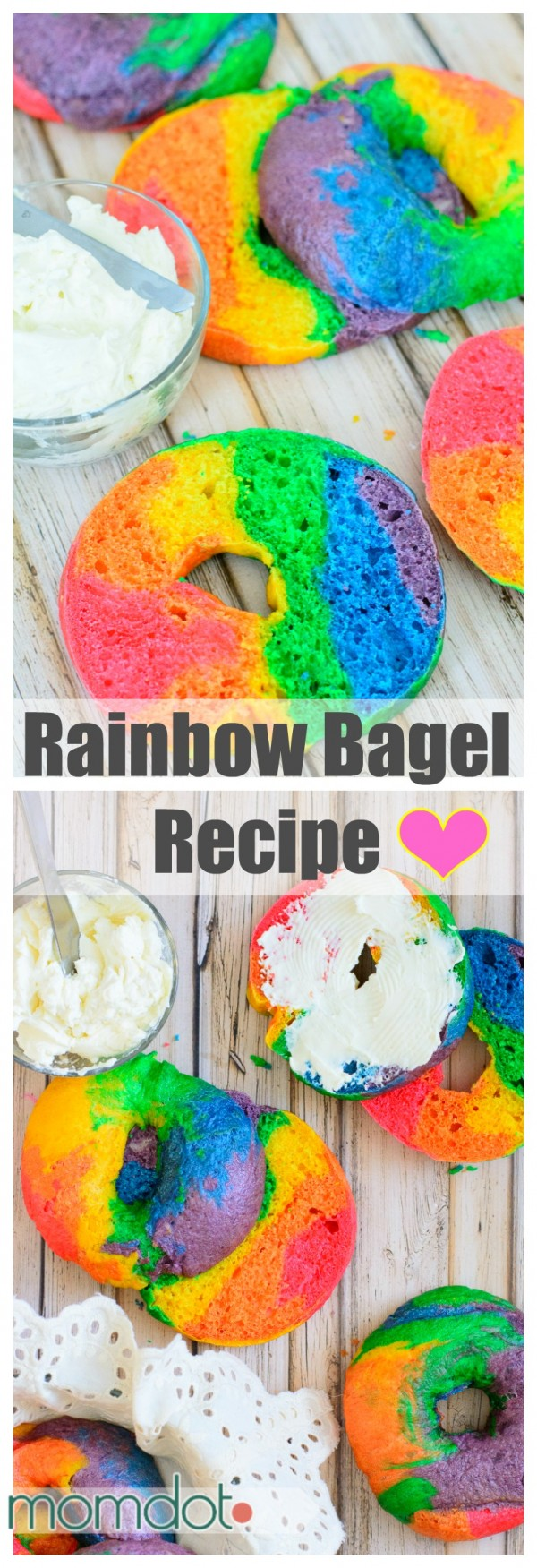 Get the recipe Rainbow Bagel @recipes_to_go
