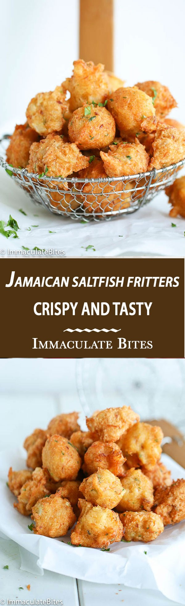 Get the recipe Jamaican Saltfish Fritters @recipes_to_go