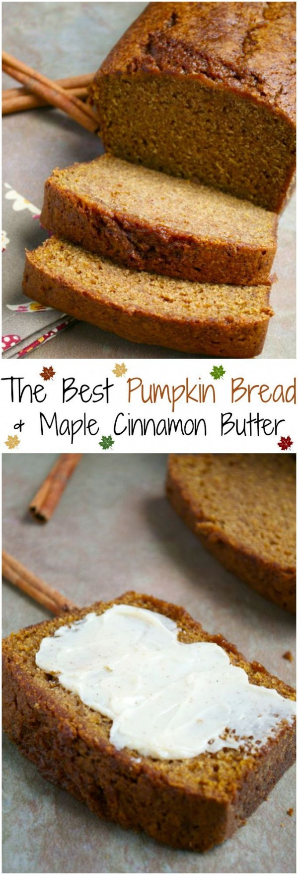 Get the recipe Pumpkin Bread with Maple Cinnamon Butter @recipes_to_go