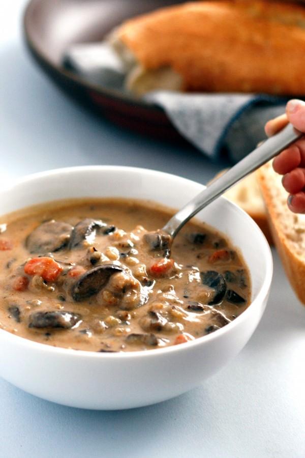 Get the recipe Mushroom Wild Rice Soup @recipes_to_go