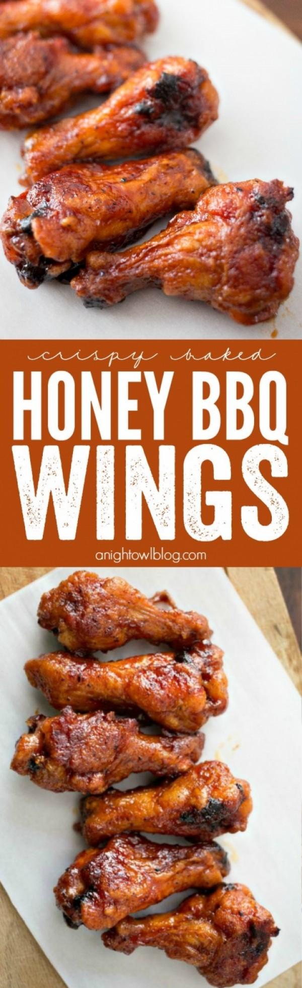 Get the recipe Honey BBQ Wings @recipes_to_go