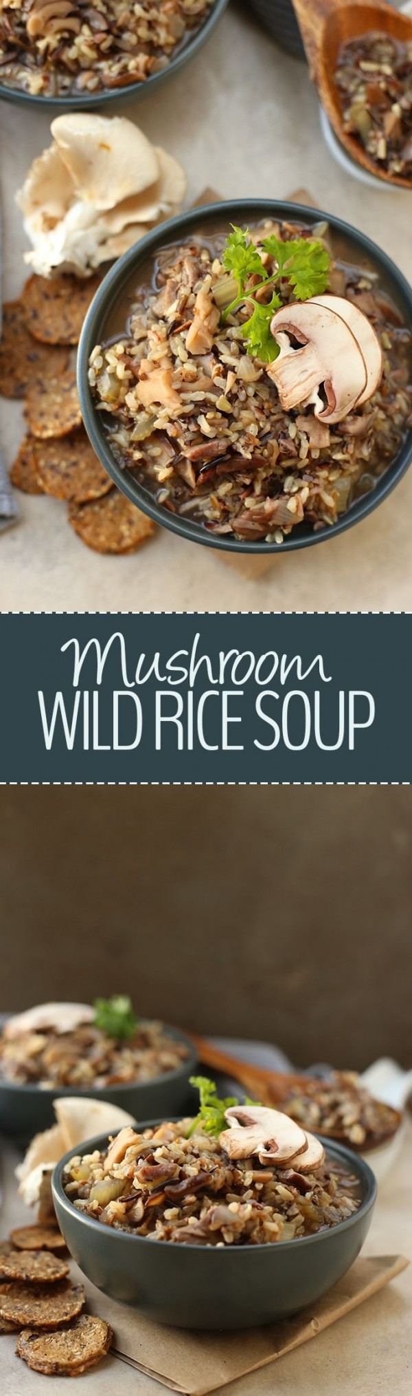 Get the #recipe #Mushroom Wild Rise #Soup @recipes_to_go