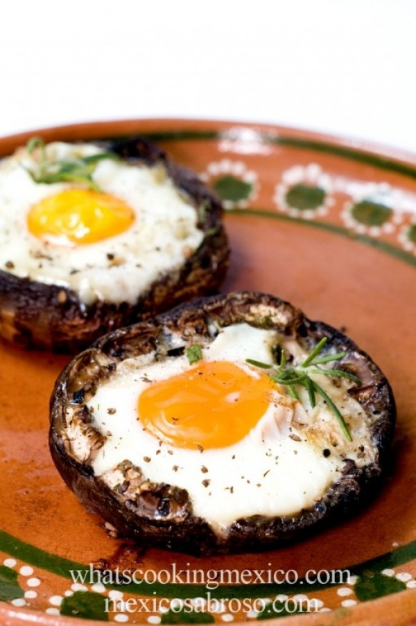 Get the #recipe #Eggs Baked in Portobello #Mushrooms @recipes_to_go