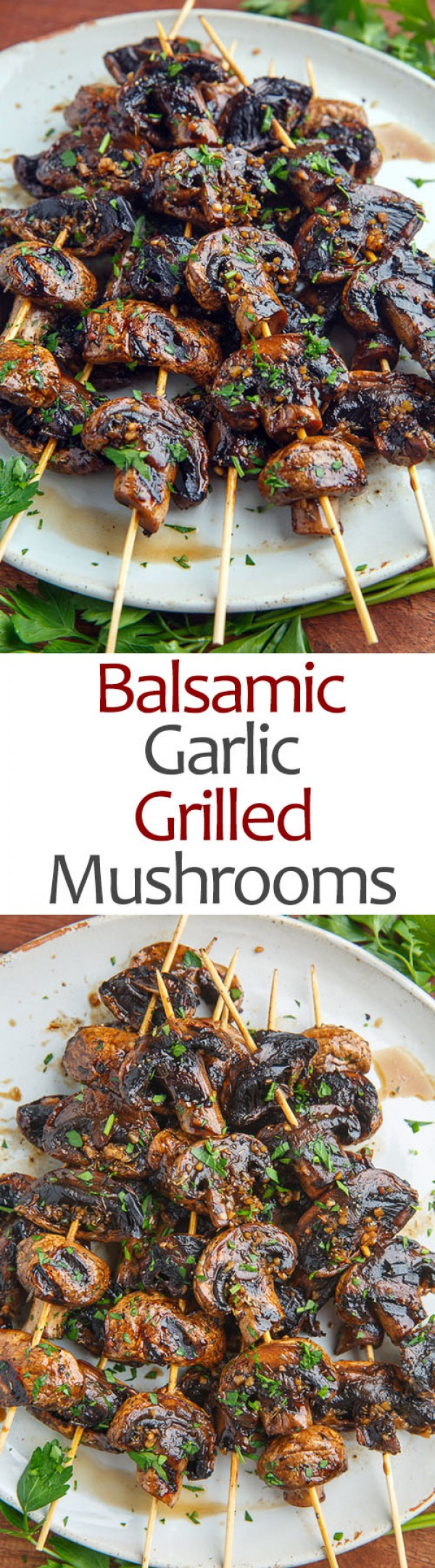Get the #recipe Balsamic #Garlic Grilled #Mushrooms @recipes_to_go