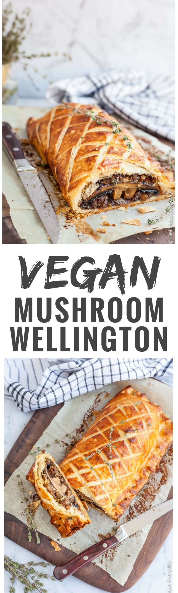 Get the #recipe #Vegan #Mushroom Wellington @recipes_to_go