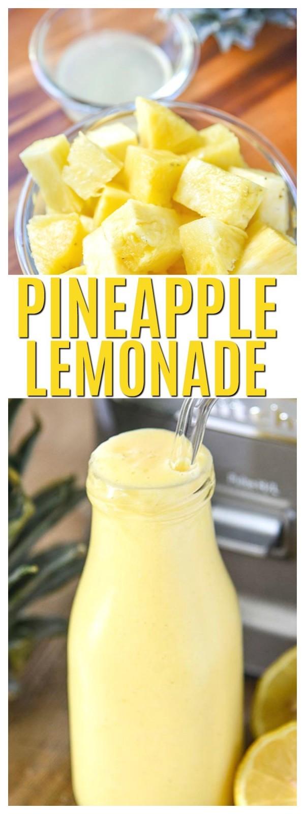 Get the recipe Pineapple Lemonade @recipes_to_go