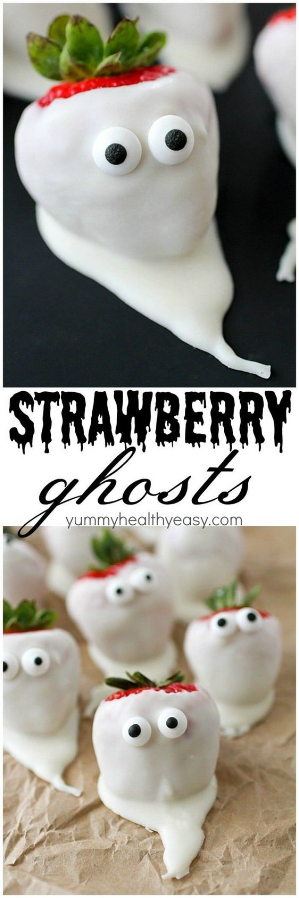 Get the recipe Strawberry Ghosts @recipes_to_go