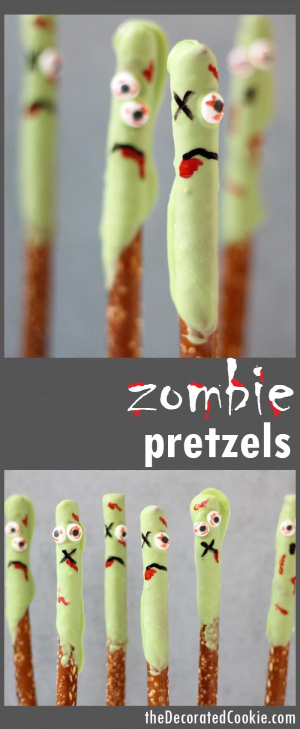 Get the recipe Zombie Pretzels @recipes_to_go
